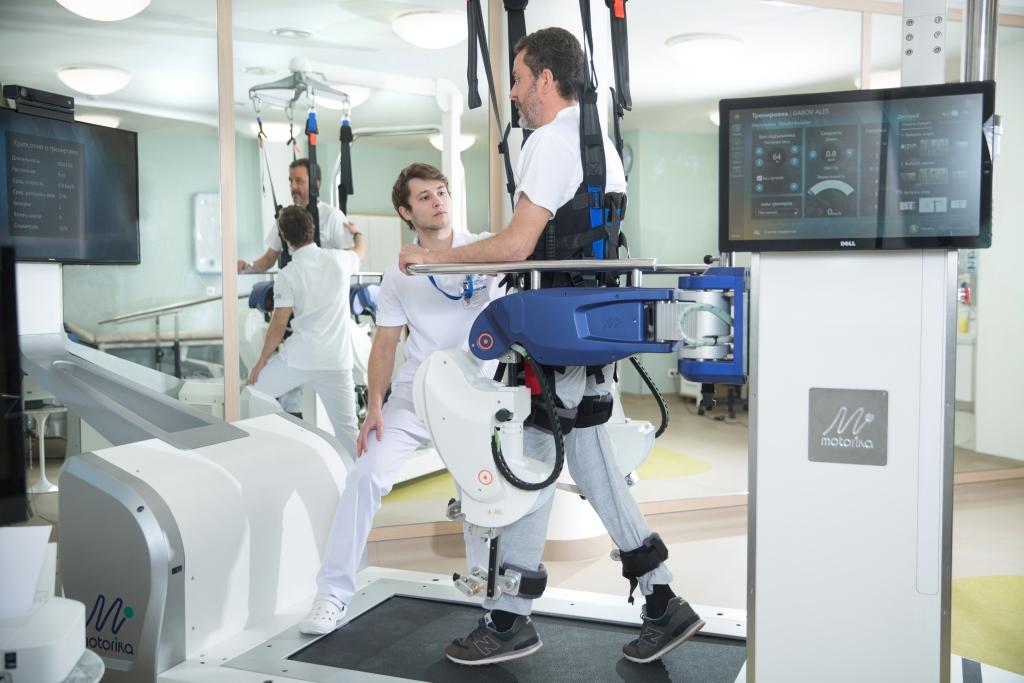 Зал роботореабилитации
