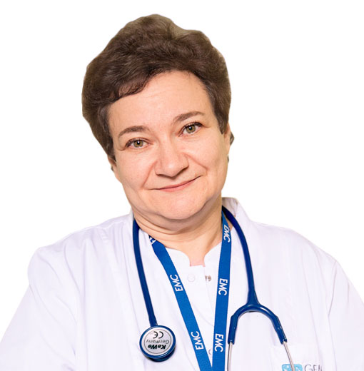 GARDASHNIK Rozanna, Pediatrician, family doctor, Chief Physician of the Children Clinic, клиника ЕМС Москва