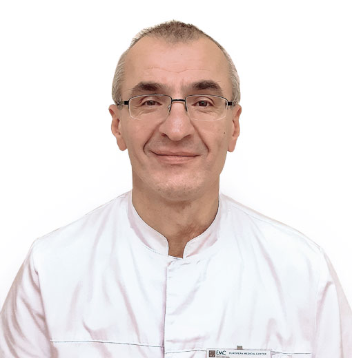 КУРУГЛИЕВ Али, анестезиолог-реаниматолог, врач высшей категории, клиника ЕМС Москва