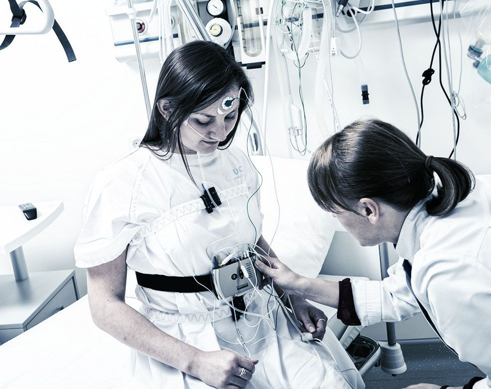 Polysomnography a type of sleep study