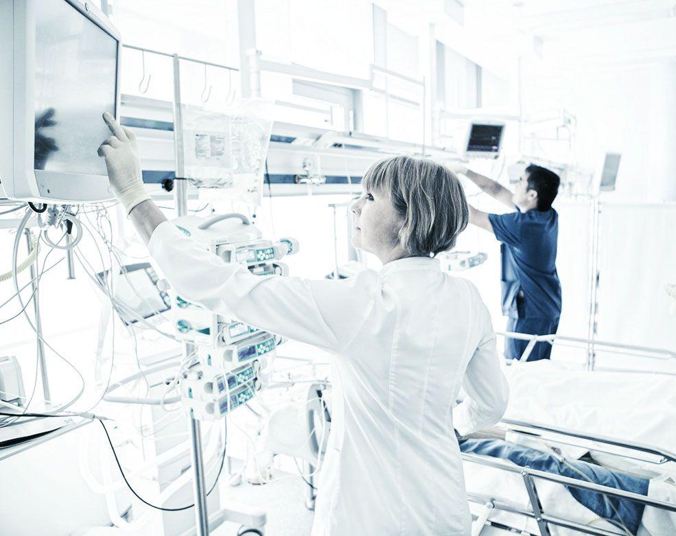 Качественный послеоперационный уход в хирургической клинике ЕМС.