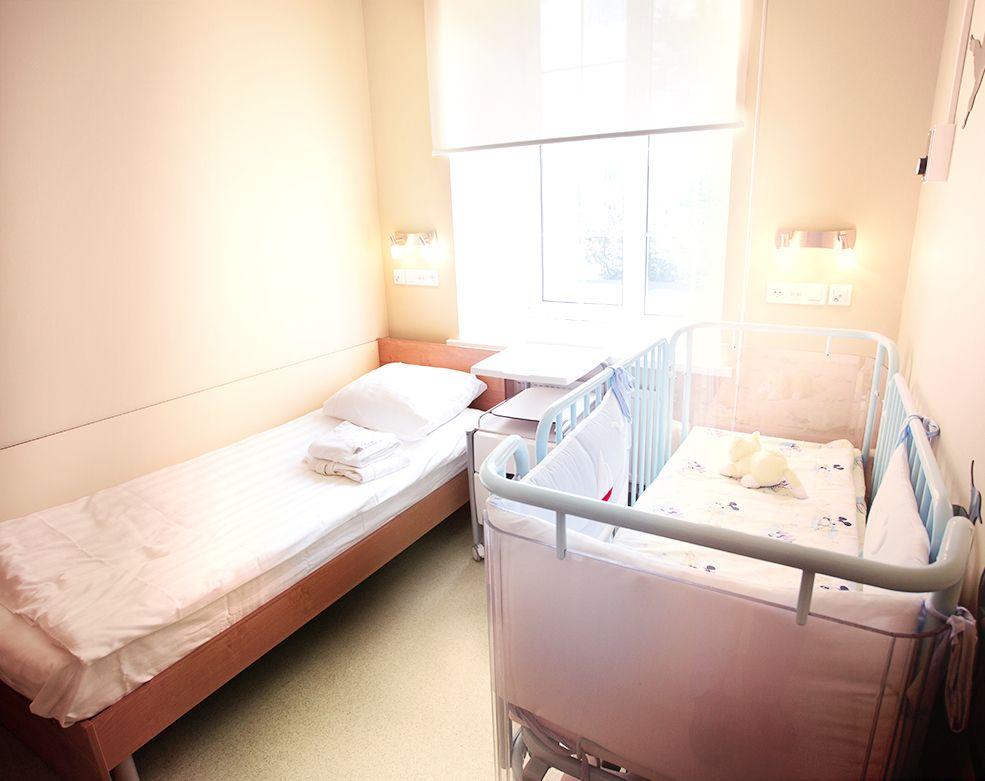 Госпитализация в детскую клинику EMC