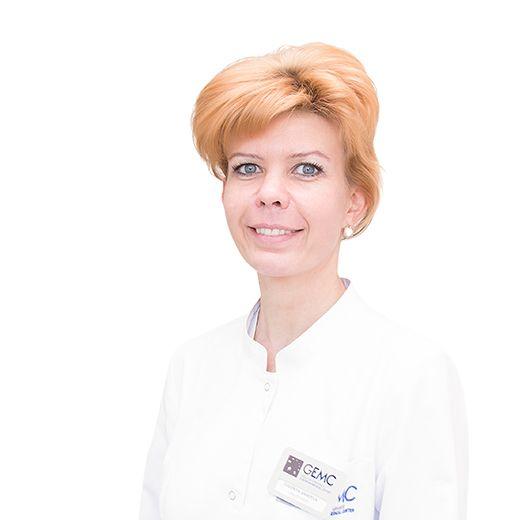 ANIKYEVA Evgeniya, Cardiologist, specialist in ultrasound diagnostics, клиника ЕМС Москва
