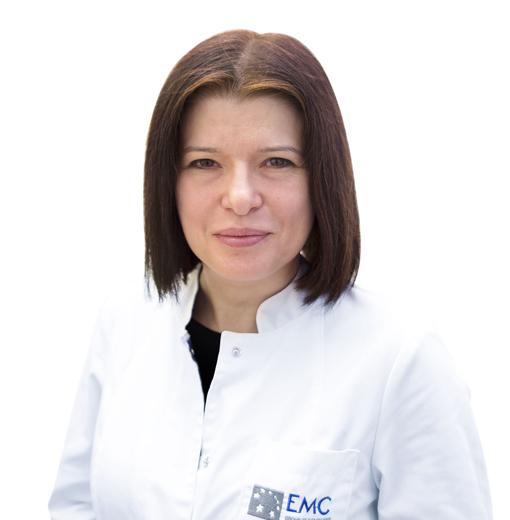 KARCHEVSKAYA Natalia, PULMONOLOGIST, клиника ЕМС Москва