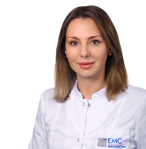BEDREDINOVA Alfiya, Оphthalmologist, клиника ЕМС Москва