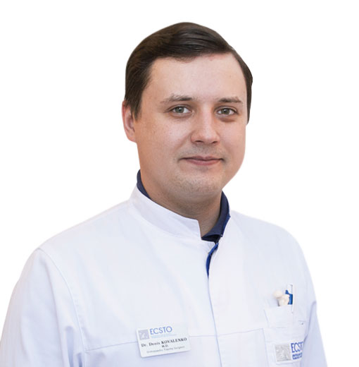 KOVALENKO Denis, ORTHOPEDIC TRAUMA SURGEON, клиника ЕМС Москва