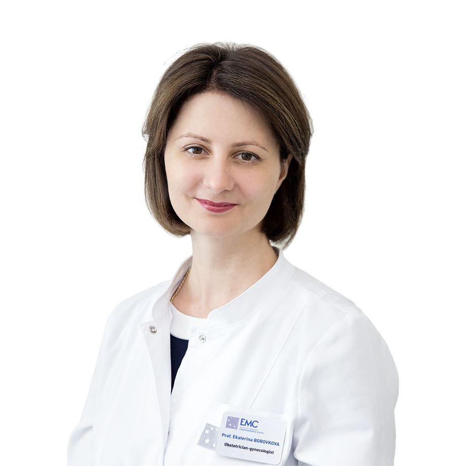 БОРОВКОВА Екатерина, Акушер-гинеколог, специалист по гинекологической эндокринологии, врач ультразвуковой диагностики, клиника ЕМС Москва
