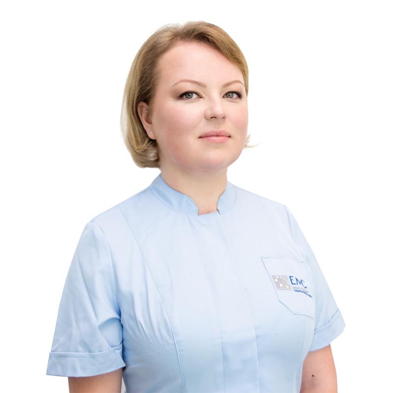 TSARKOVA Olga, DENTIST, клиника ЕМС Москва