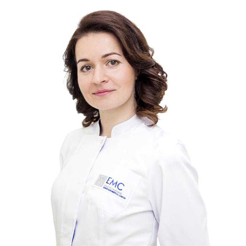 CHEKULAEVA Olga, Dietologist, клиника ЕМС Москва