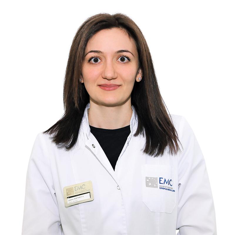 ЦИНОЕВА Залина, Врач-терапевт, клиника ЕМС Москва