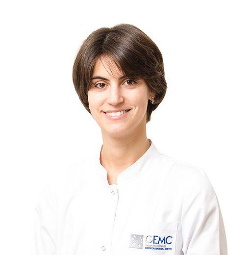 DOVLATOVA Ekaterina, Otolaryngologist, vestibulologist, клиника ЕМС Москва