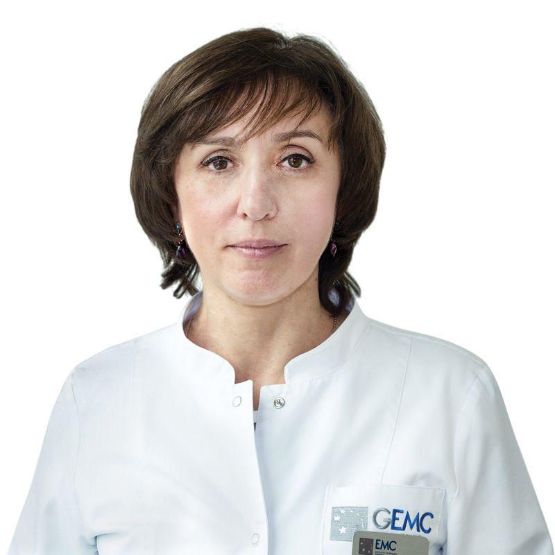 ГОДЖЕЛЛО Элина, Врач-эндоскопист, гастроэнтеролог, клиника ЕМС Москва