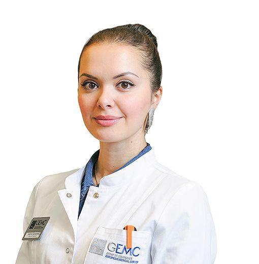 KHADARTSEVA Madina, Radiologist, клиника ЕМС Москва