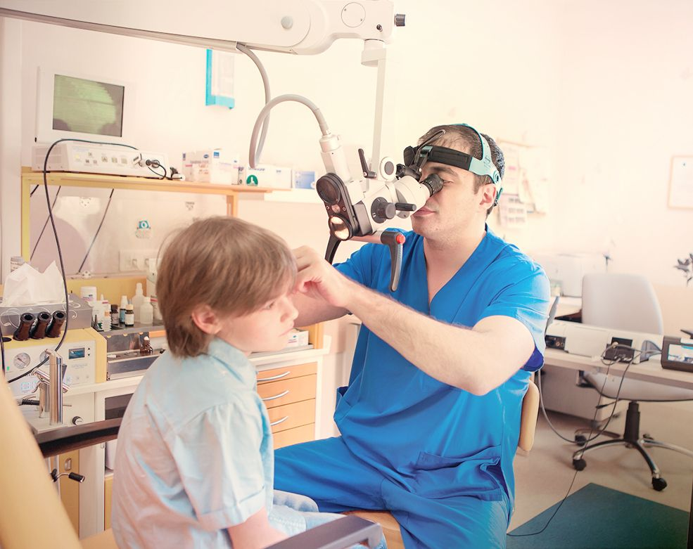 Оториноларингология в детской клинике EMC