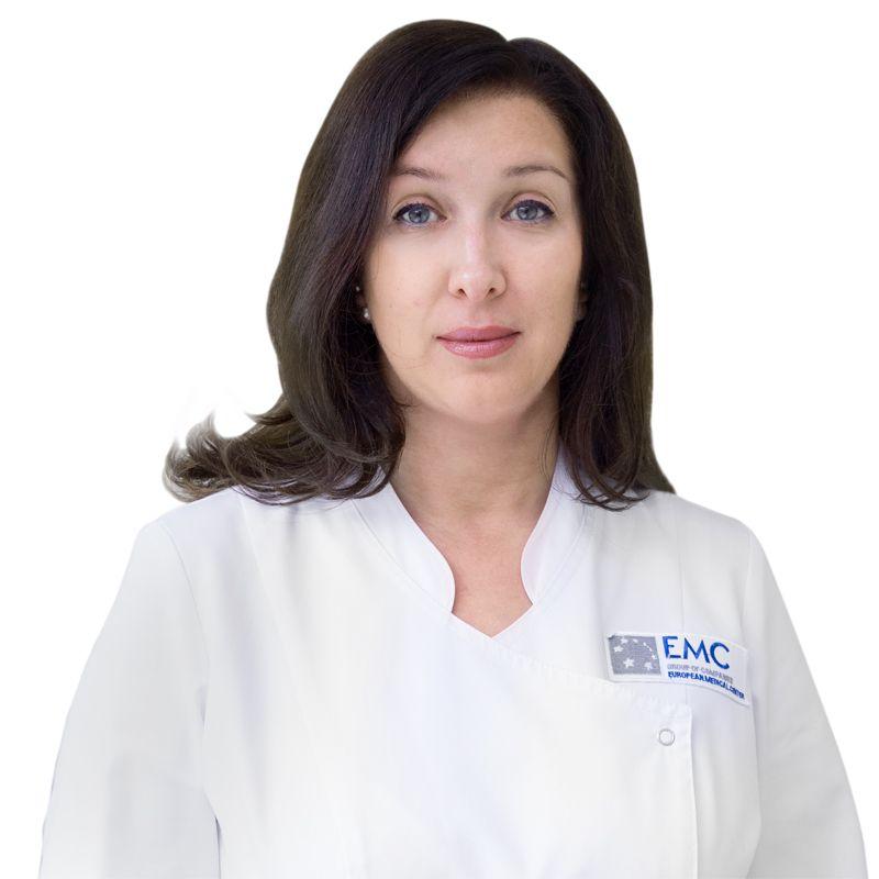 КОРЖНЕВА Елена, Ведущий косметолог (эстетист), клиника ЕМС Москва