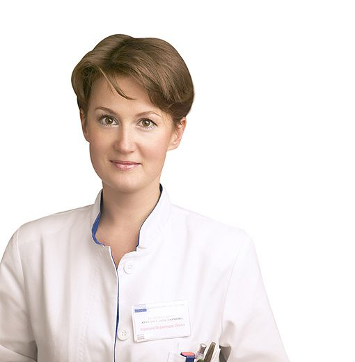 KUTILINA Larisa, General practitioner, in-patient physician, клиника ЕМС Москва