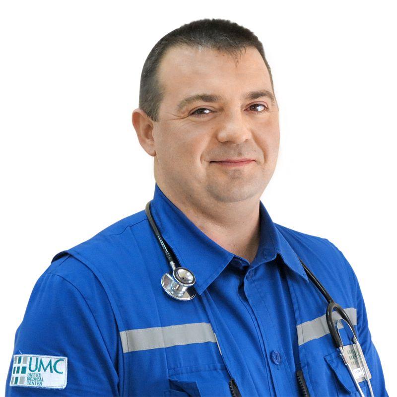 LITVIN Stanislav, Emergency doctor, anesthesiologist-resuscitationist, клиника ЕМС Москва