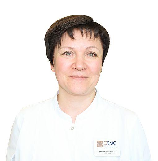 LOGVINOVA Marina, Endoscopist, клиника ЕМС Москва