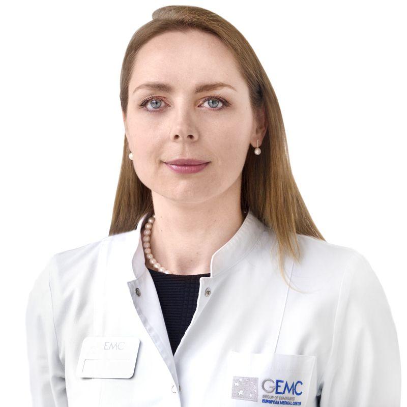 МОТОВИЛОВА Екатерина, Невролог, клиника ЕМС Москва