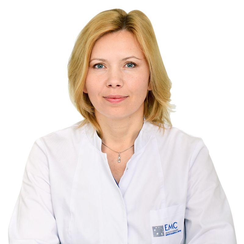 НЕФЕДОВА Александра, Акушер-гинеколог, репродуктолог, клиника ЕМС Москва