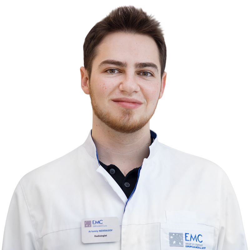 НЕКРАСОВ Артемий, Врач-рентгенолог, радиолог, клиника ЕМС Москва