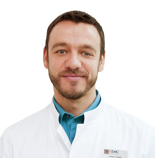 NOSOV Vladimir, Obstetrician and gynecologist, oncologist , клиника ЕМС Москва