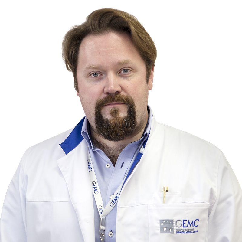 ПУЗАКИН Евгений, Врач-радиолог, клиника ЕМС Москва