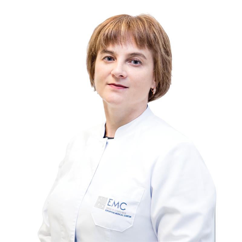 СДОБНОВА Елена, Дерматовенеролог, подолог, клиника ЕМС Москва