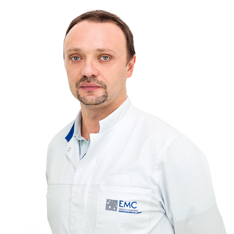 SEROV Anton, general practicioner, infectious disease specialist, клиника ЕМС Москва