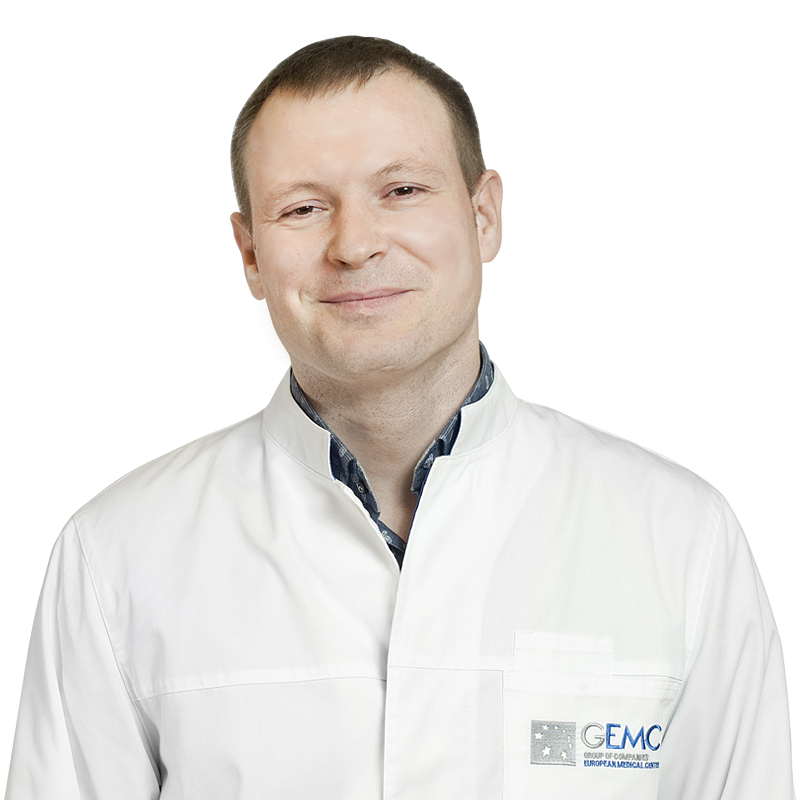 SINITSKIY Mikhail, Radiologist, Chief specialist on beam diagnostics of diseases of bones and joints, клиника ЕМС Москва