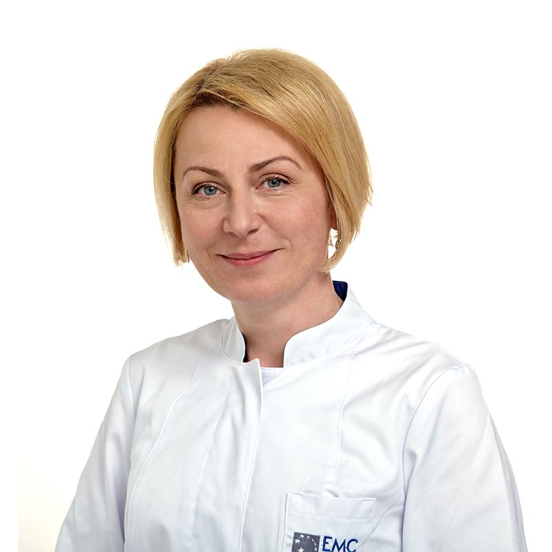 SUKHOBOKOVA Elena, Neonatologist, anesthesiologist, physician of the highest qualification category, клиника ЕМС Москва