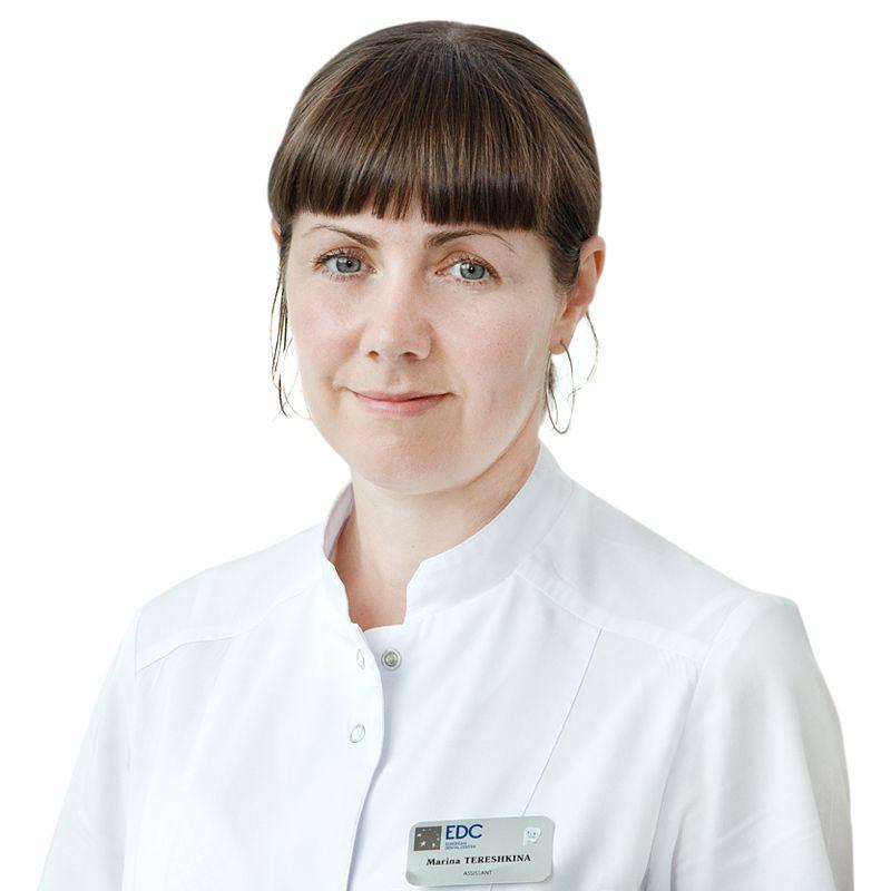 ТЕРЕШКИНА Марина, Медицинская сестра стоматологическая, клиника ЕМС Москва
