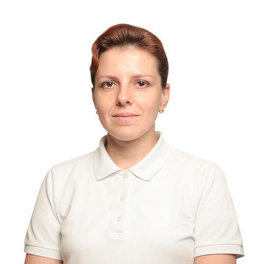ТЕРВО Елена, Инструктор по лечебной гимнастике отделения реабилитации , клиника ЕМС Москва