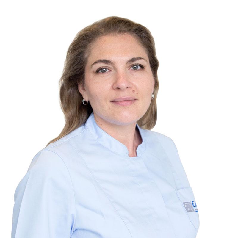 TYURINA Polina, Сhildren's dentist, dental therapist, клиника ЕМС Москва