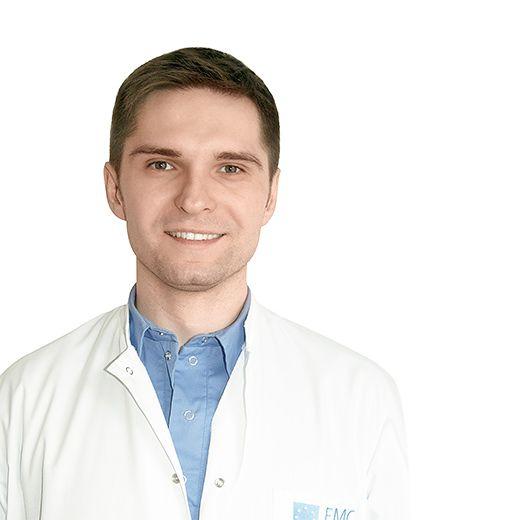 ТУТОВ Денис, Врач общей практики, хирург, клиника ЕМС Москва