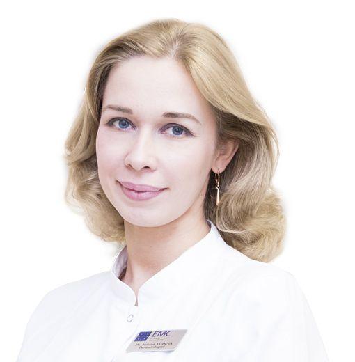 YUDINA Marina, Dermatologist, allergist-immunologist, cosmetologist, клиника ЕМС Москва