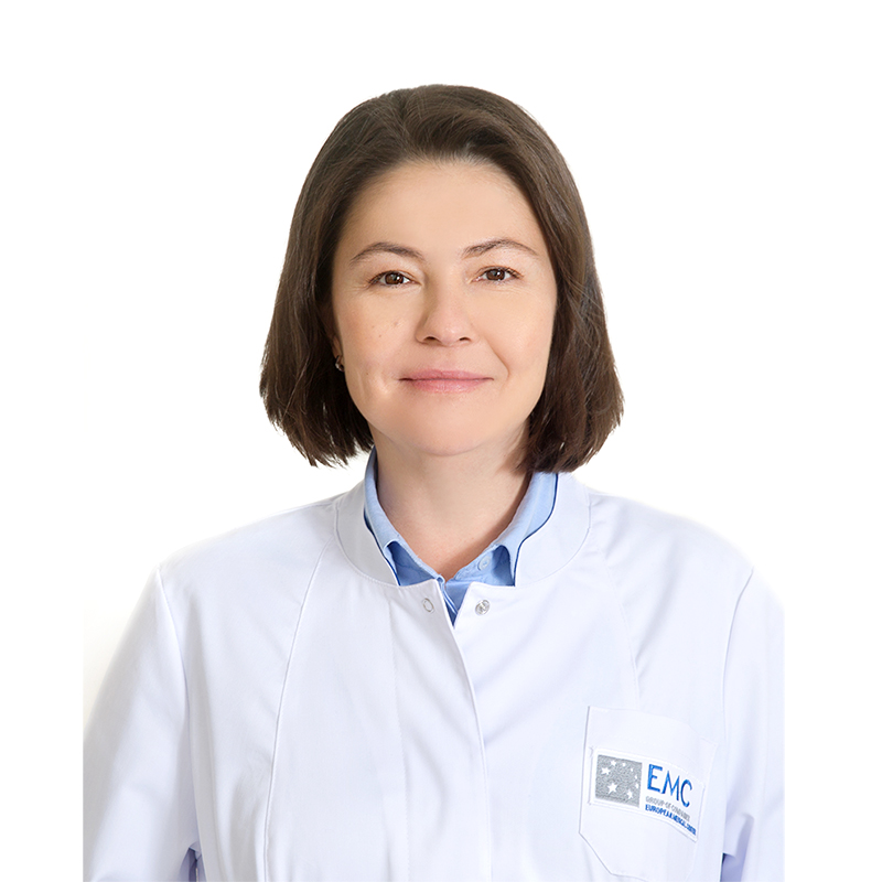 VOLKOVA Anvara, neurologist, клиника ЕМС Москва