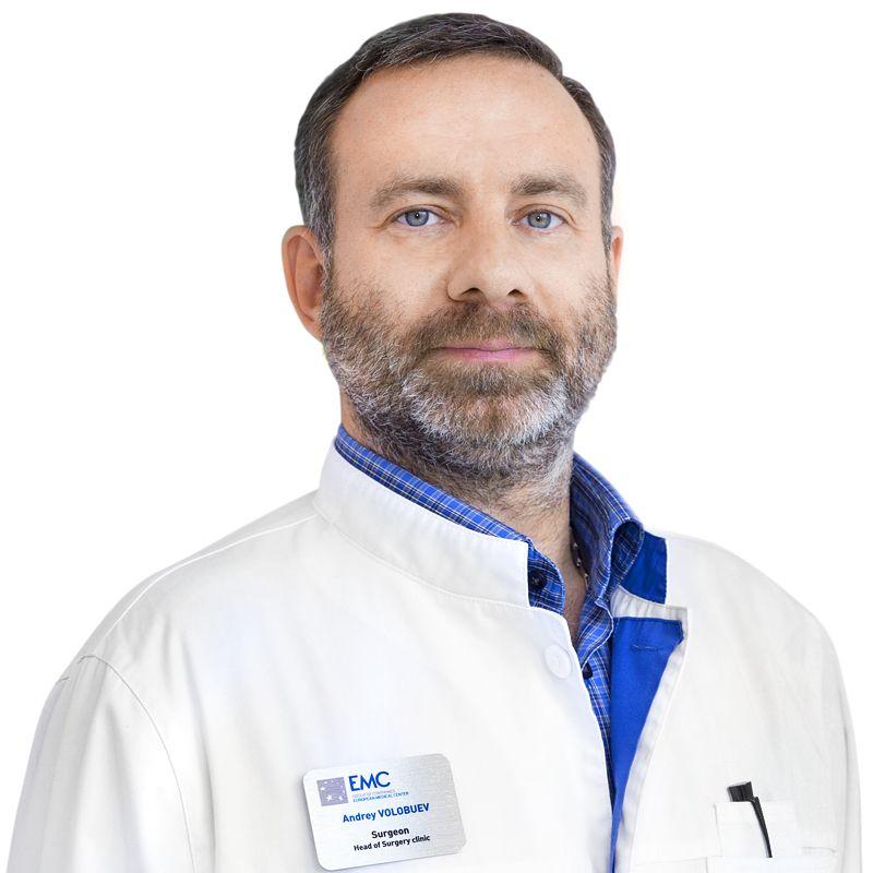 VOLOBUEV Andrey, Surgeon, Oncologist, клиника ЕМС Москва