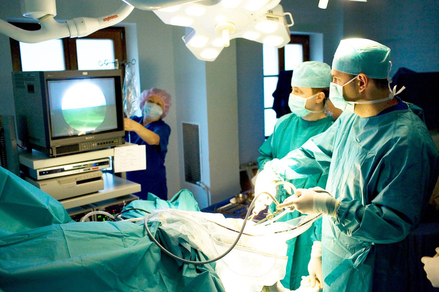 Малоинвазивные операции в хирургической клинике ЕМС